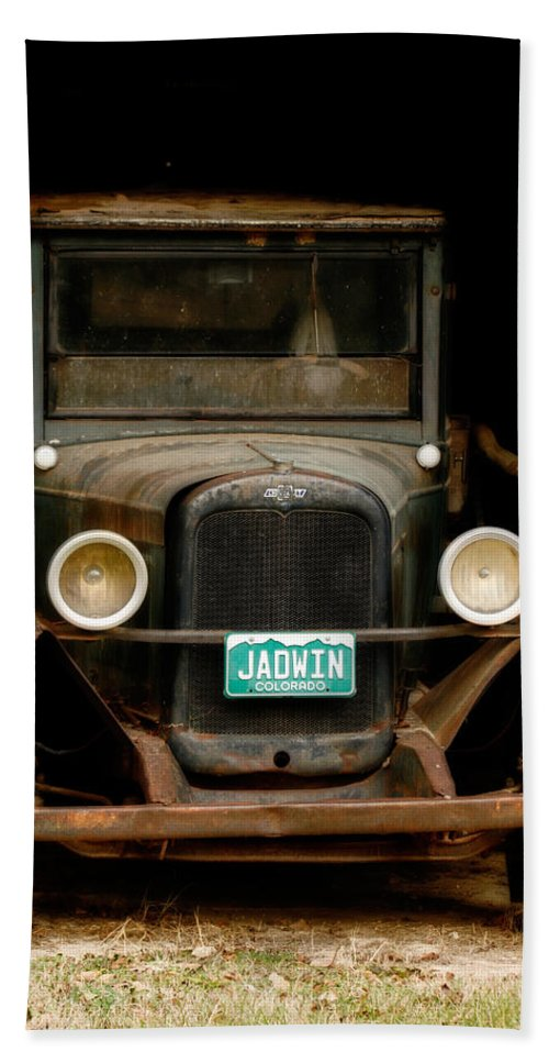 Classic Chevy Car Bath Sheet featuring the photograph Classic Chevy by CE Haynes