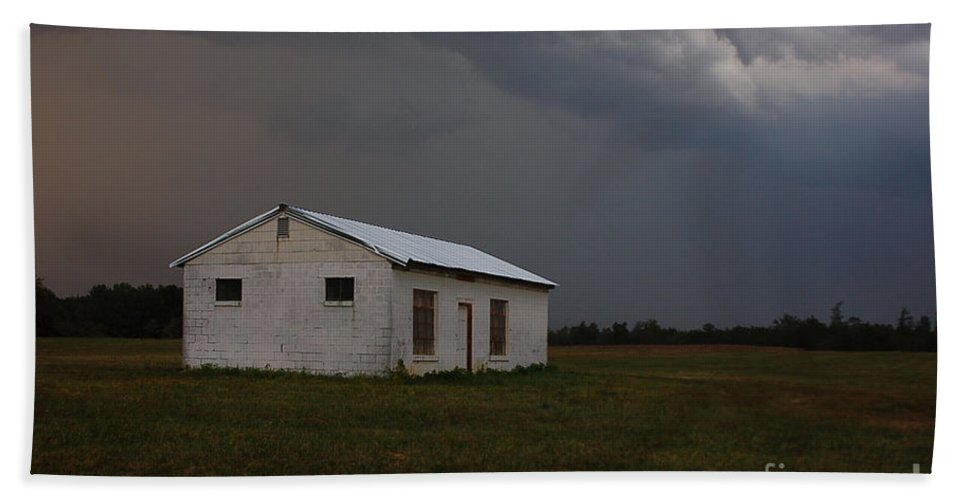 Storm Bath Sheet featuring the photograph Clearing Storm by Aaron Shortt