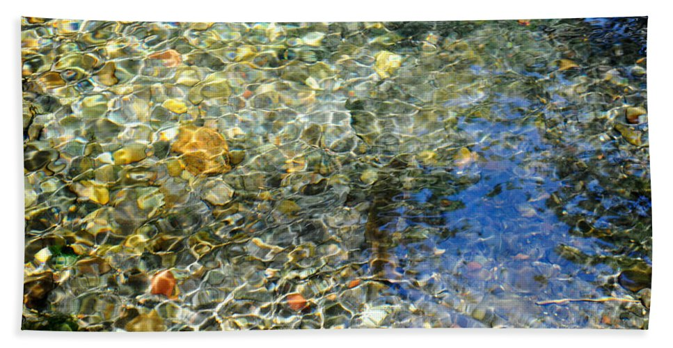 Water Bath Sheet featuring the photograph Clearwater Falls Series 6 by Teri Schuster