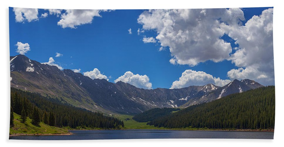 Colorado Hand Towel featuring the photograph Clinton Gulch Summer by Darren White
