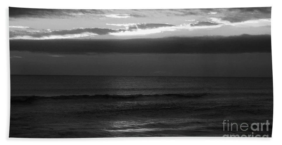 Keri West Bath Sheet featuring the photograph Clouded Sunrise by Keri West