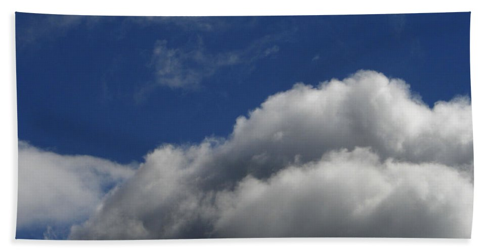 Clouds Hand Towel featuring the photograph Clouds by Carol Lynch