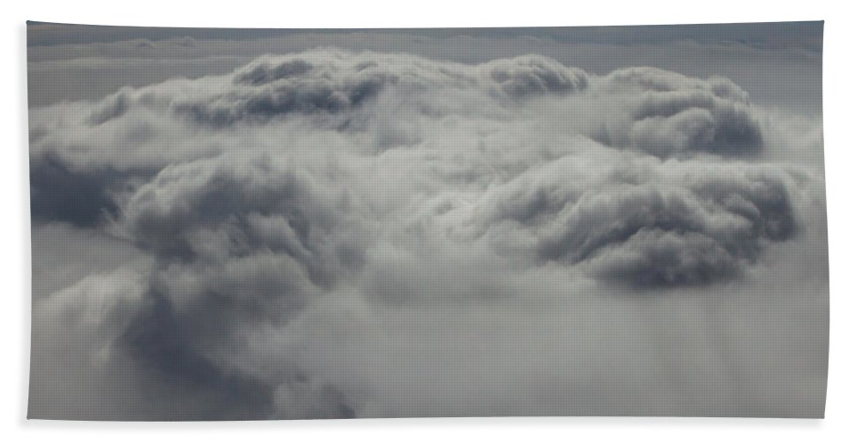 Clouds Bath Sheet featuring the photograph Clouds Over California by John Daly