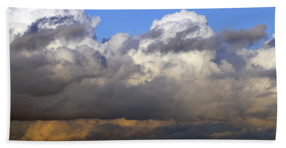 Portsmouth Bath Sheet featuring the photograph Clouds Over Portsmouth by Tony Murtagh