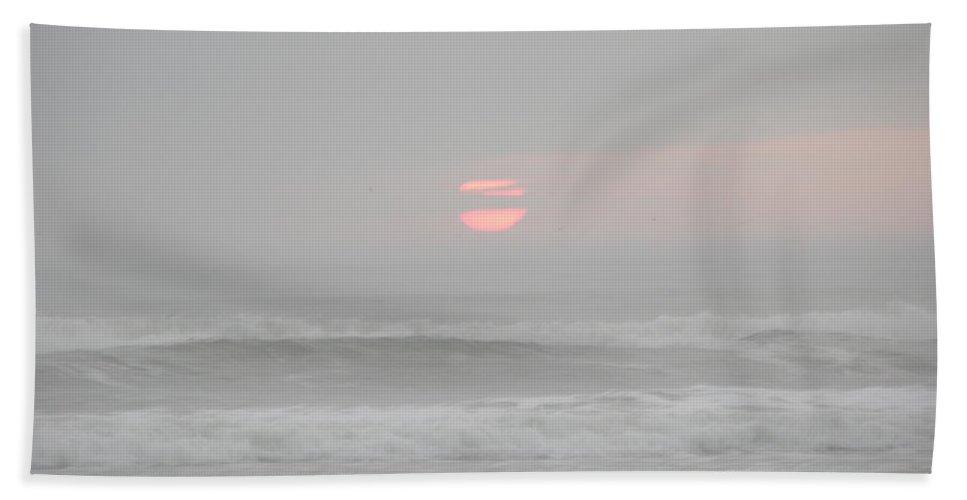 Photography Bath Sheet featuring the photograph Cloudy Dawn 3 3-15-15 by Julianne Felton