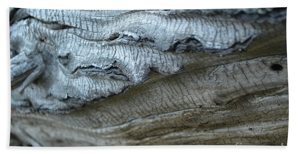 Texture Bath Sheet featuring the photograph Cluthu Tree by Brian Boyle