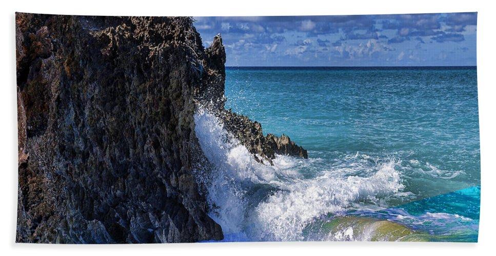 Beach Bath Towel featuring the photograph Coast 5 by Ingrid Smith-Johnsen