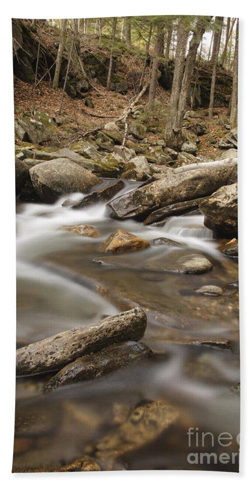 Cockermouth River Bath Towel featuring the photograph Cockermouth River - Groton New Hampshire Usa by Erin Paul Donovan