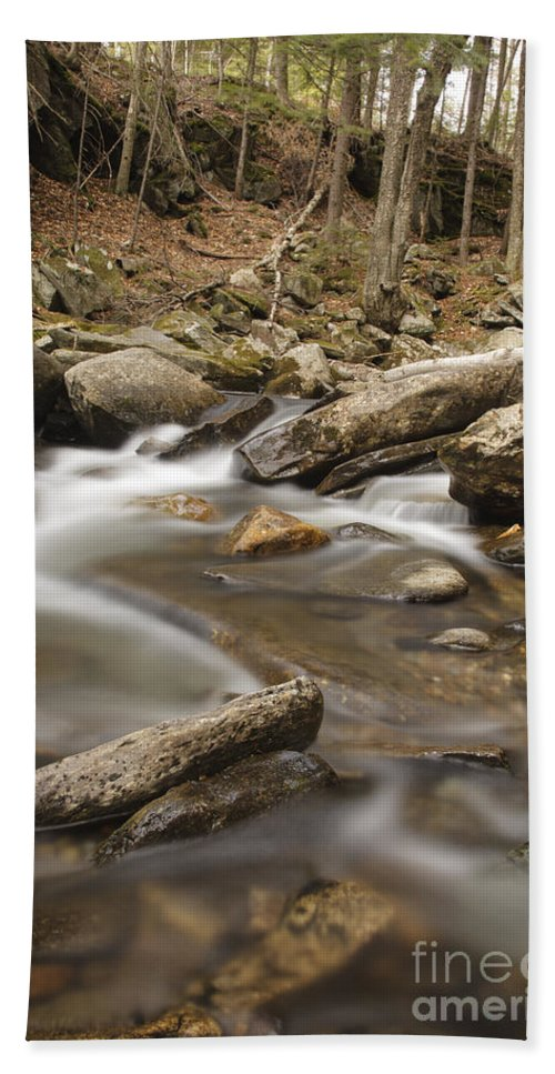 Cockermouth River Bath Sheet featuring the photograph Cockermouth River - Groton New Hampshire Usa by Erin Paul Donovan