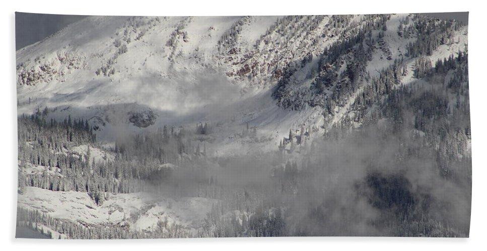 Clouds Bath Sheet featuring the photograph Colorado Mountain High by Fiona Kennard