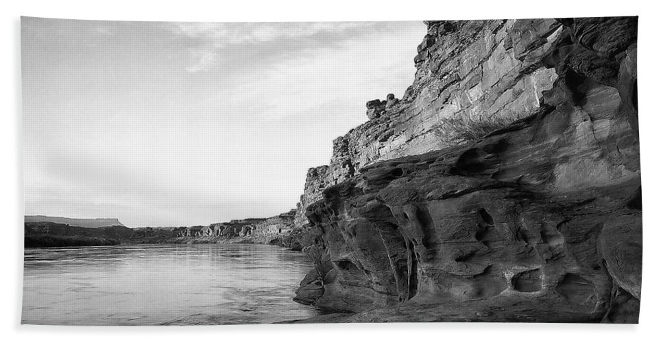 Atmosphere Hand Towel featuring the photograph Colorado River by Ingrid Smith-Johnsen