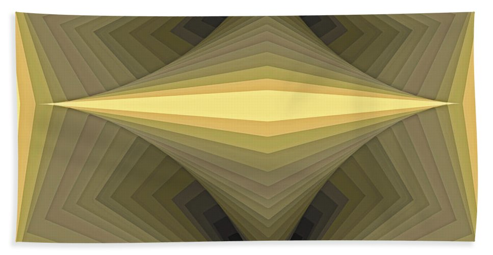 Tablet Hand Towel featuring the painting Composition 147 by Terry Reynoldson