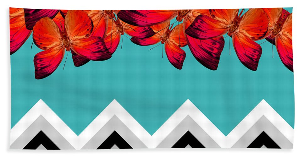 Contemporary Hand Towel featuring the photograph Contemporary Design by Mark Ashkenazi