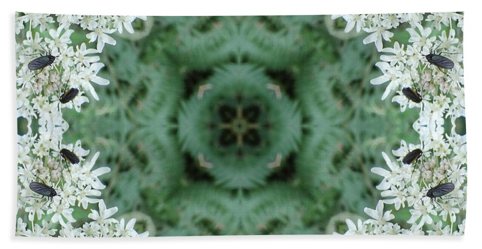 Calm Bath Sheet featuring the photograph Cornwall Flowers Two by Coventry Wildeheart