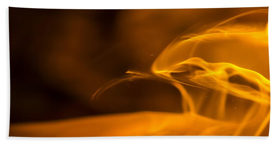 Ignition Bath Sheet featuring the photograph Corona by Steven Poulton