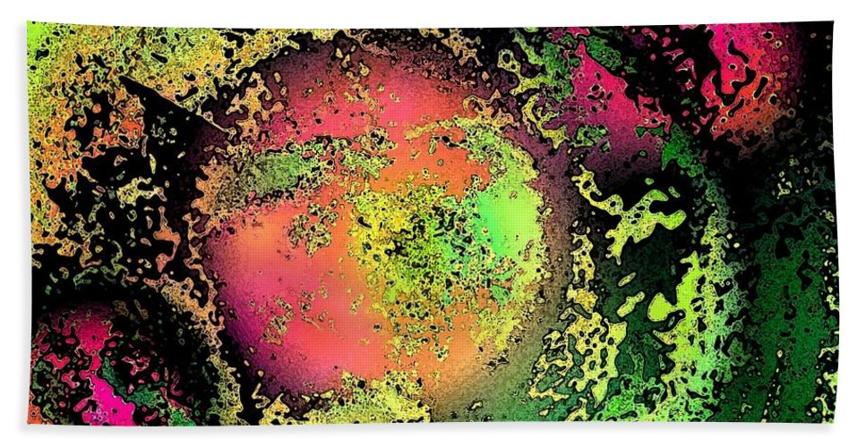 Bath Sheet featuring the photograph Cosmic Creation by David Pantuso