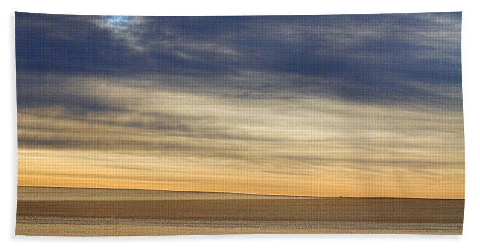 Colorful Bath Sheet featuring the photograph Country Morning Sky by James BO Insogna
