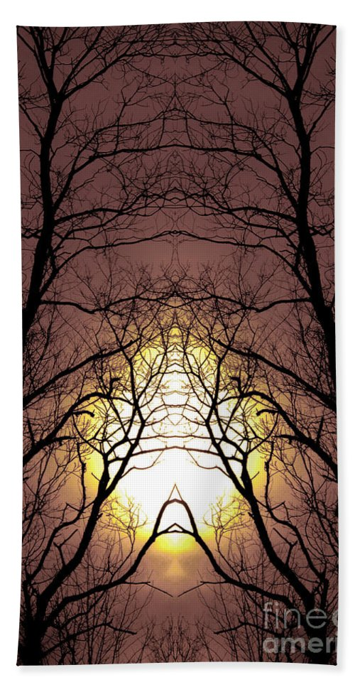 Hand Towel featuring the photograph Creation 230 by Mike Nellums