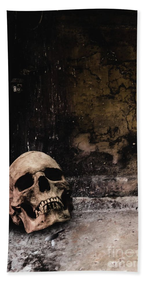Atmosphere Bath Sheet featuring the photograph Crypt by Margie Hurwich