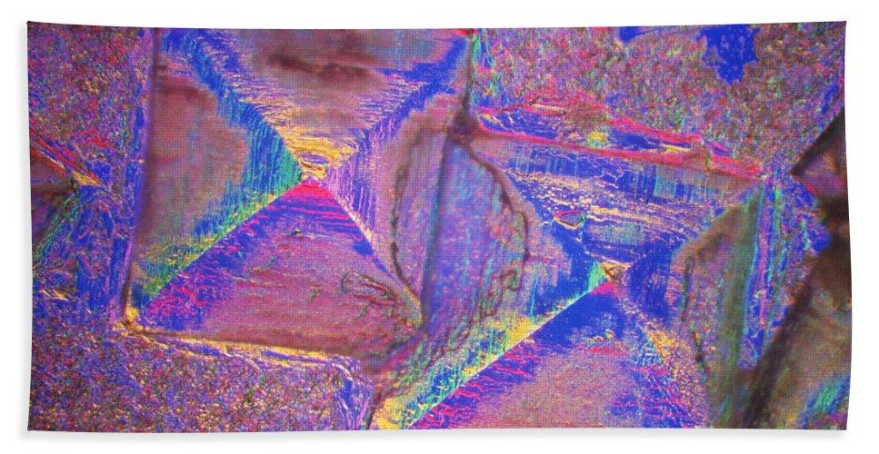 Salt Bath Towel featuring the photograph Crystal Salt by Patrick J. Lynch