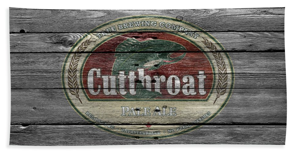 Cutthroat Pale Ale Hand Towel featuring the photograph Cutthroat Pale Ale by Joe Hamilton