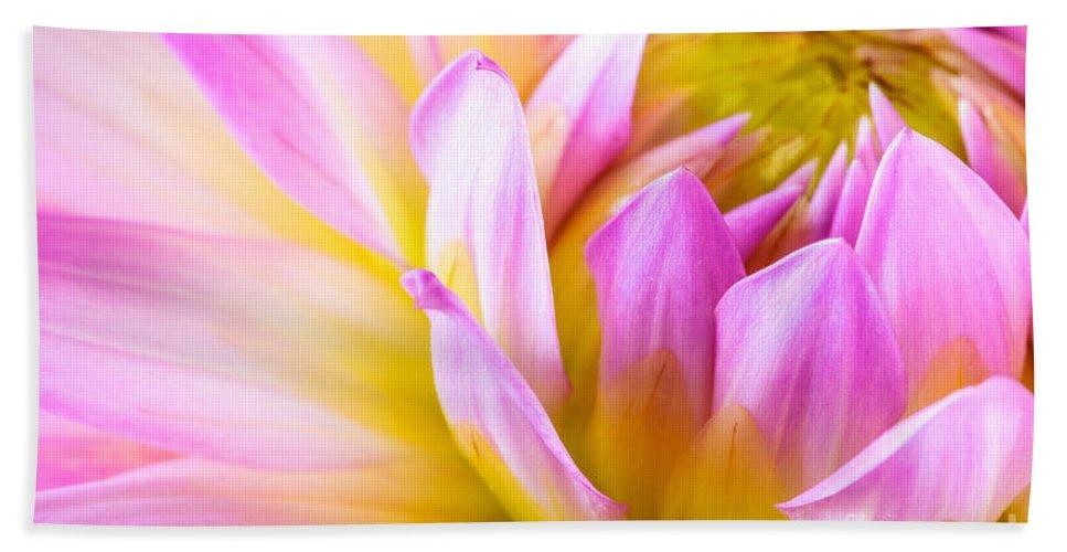 Bloom Hand Towel featuring the photograph Dahlia by Joe Mamer