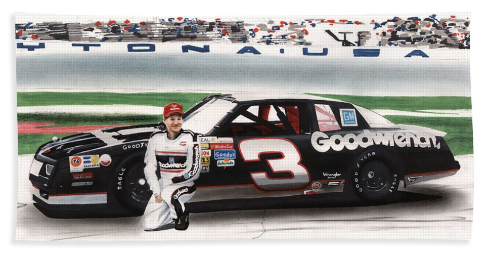 Dale Earnhardt Goodwrench Monte Carlo Hand Towel