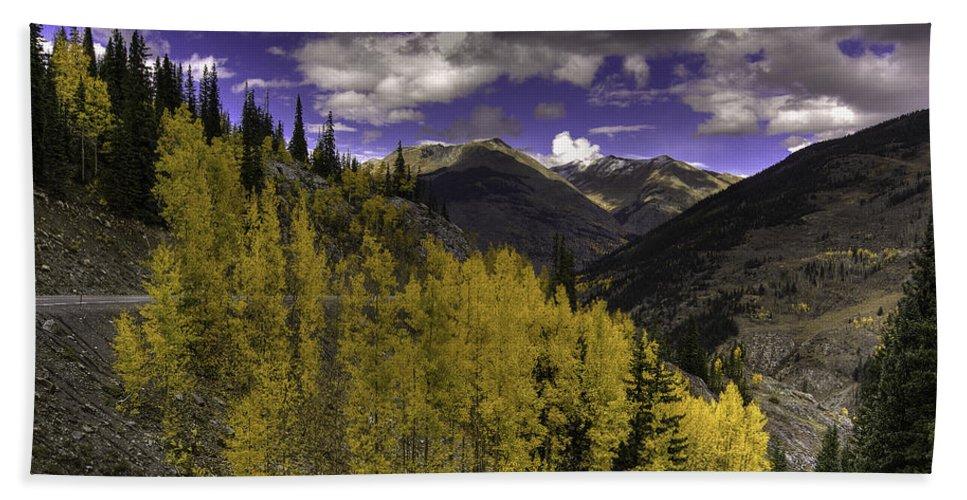 Landscape Hand Towel featuring the photograph Dark Brightness by Bill Sherrell