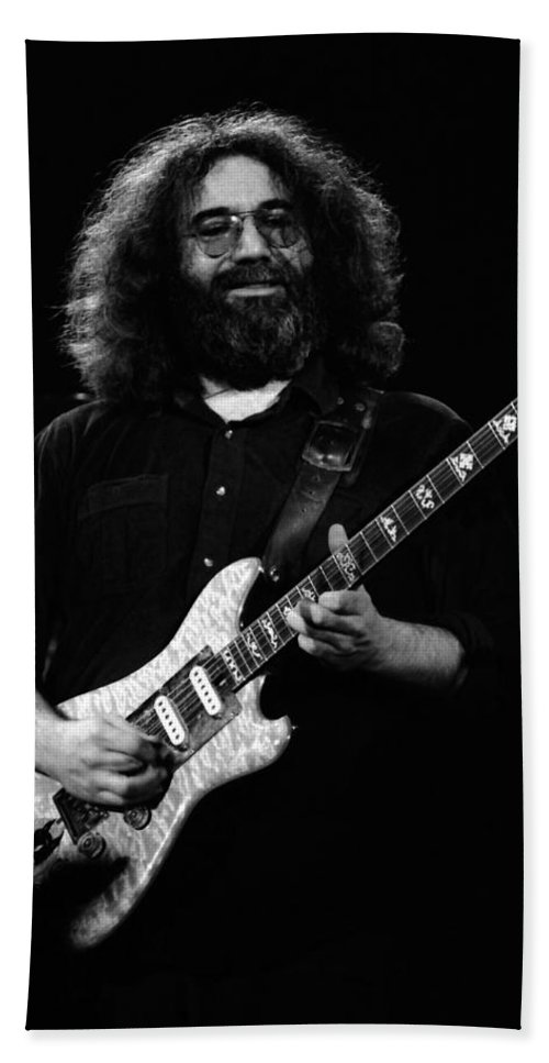Jerry Garcia Hand Towel featuring the photograph Dead #3 by Ben Upham