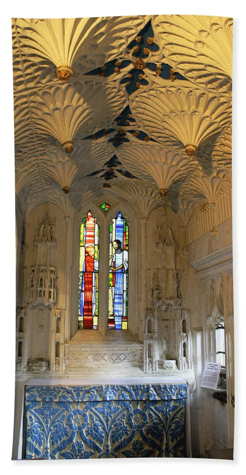 St Mary's Church Hand Towel featuring the photograph Dean's Chapel by Tony Murtagh