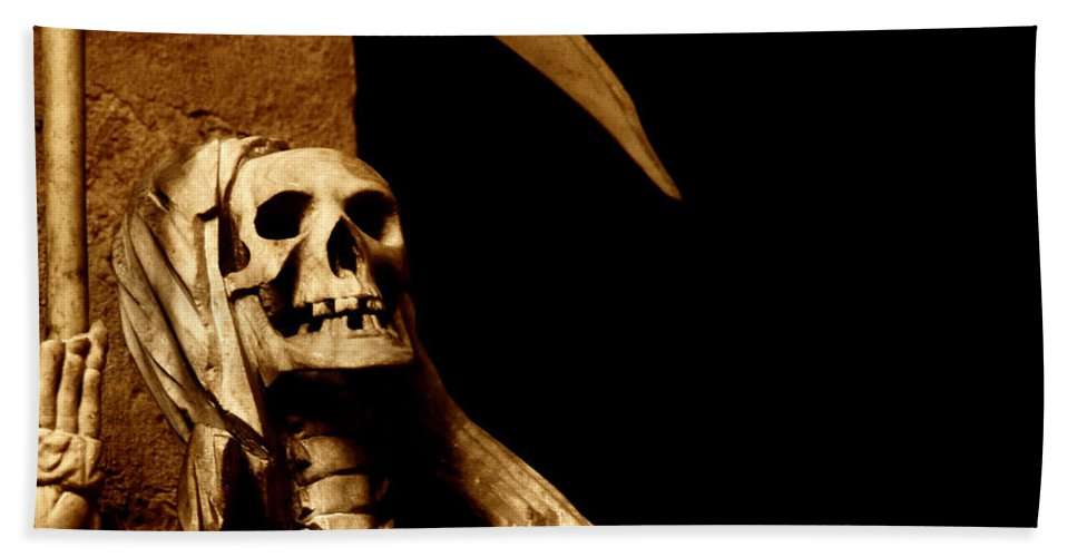 Art Hand Towel featuring the photograph Death by TouTouke A Y