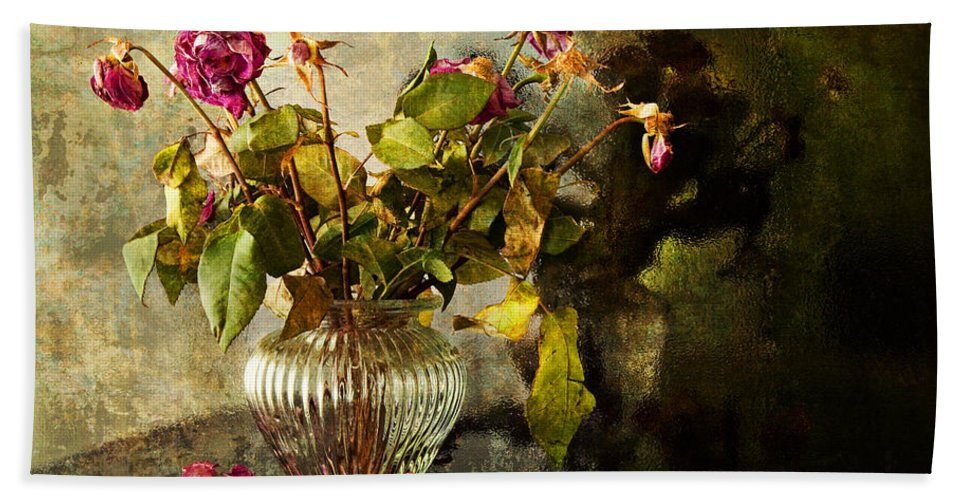 Vintage Bath Sheet featuring the photograph Decadence 1 by Theresa Tahara