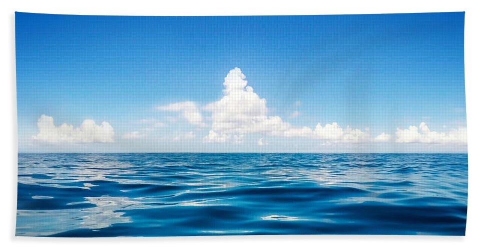 Scenery Bath Sheet featuring the photograph Deep Blue by Nicklas Gustafsson