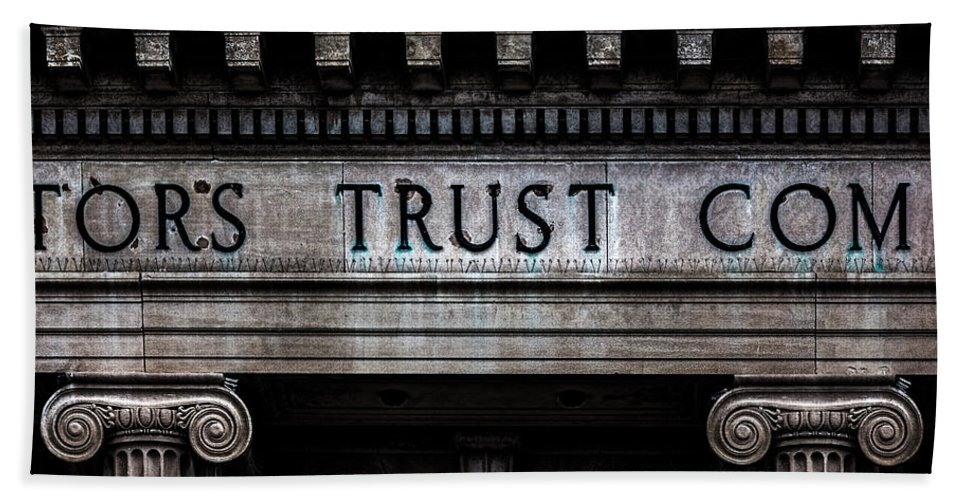 Depositors Trust Company Bath Sheet featuring the photograph Depositors Trust Company by Bob Orsillo
