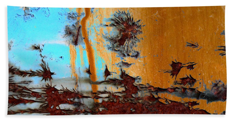 Abstract Art Bath Sheet featuring the photograph Desert Sky by The Artist Project