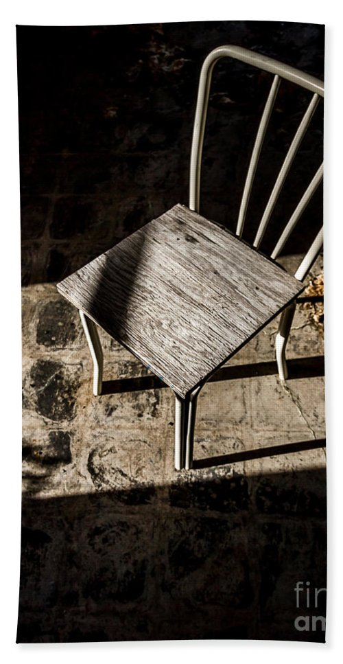 Abandoned Hand Towel featuring the photograph Desolate by Ken Frischkorn