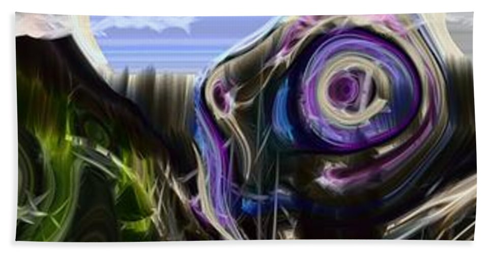 Abstract Bath Sheet featuring the photograph Different Tales Different Scenes by Richard Thomas