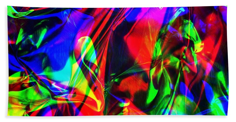 Rgb Hand Towel featuring the photograph Digital Art-a11 by Gary Gingrich Galleries