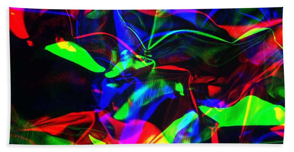 Rgb Hand Towel featuring the photograph Digital Art-a16 by Gary Gingrich Galleries