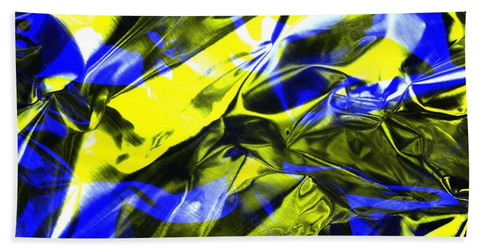Rgb Hand Towel featuring the photograph Digital Art-a17 by Gary Gingrich Galleries