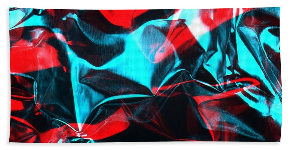 Rgb Hand Towel featuring the photograph Digital Art-a20 by Gary Gingrich Galleries