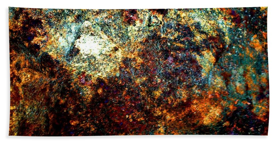 Discovery Hand Towel featuring the photograph Discovery - Abstract 002 by Cristina Stefan