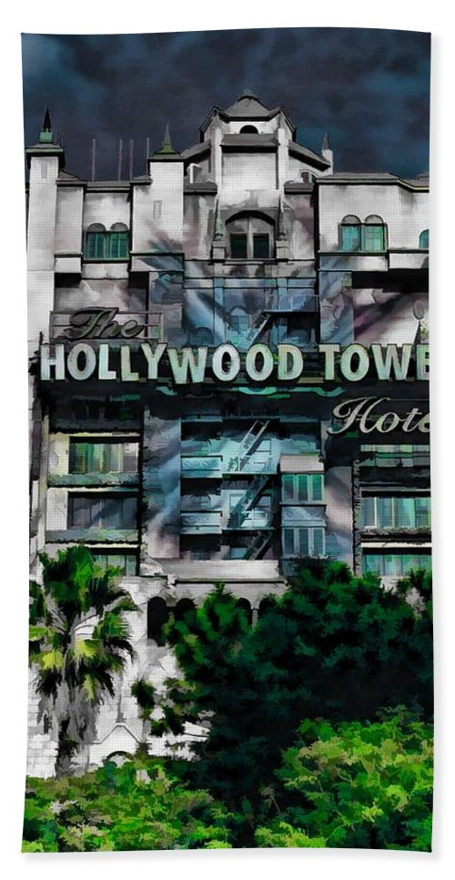 Tower Of Terror Hand Towel featuring the photograph Do You Like by Joyce Baldassarre