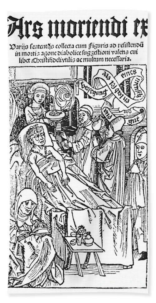 1509 Bath Sheet featuring the photograph Doctor And Patient, 1509 by Granger
