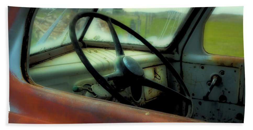 Dodge Hand Towel featuring the photograph Dodge Truck by Theresa Tahara