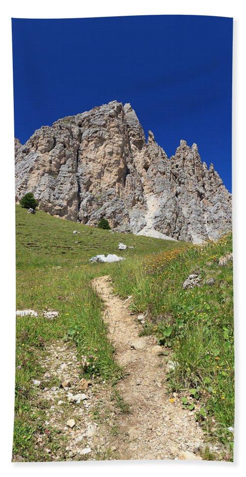 Alto Adige Bath Sheet featuring the photograph Dolomites - Gran Cir by Antonio Scarpi