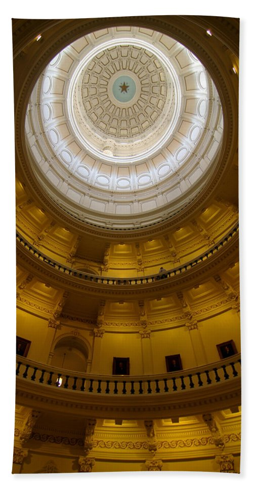 Dome Bath Sheet featuring the photograph Dome by John Dauer