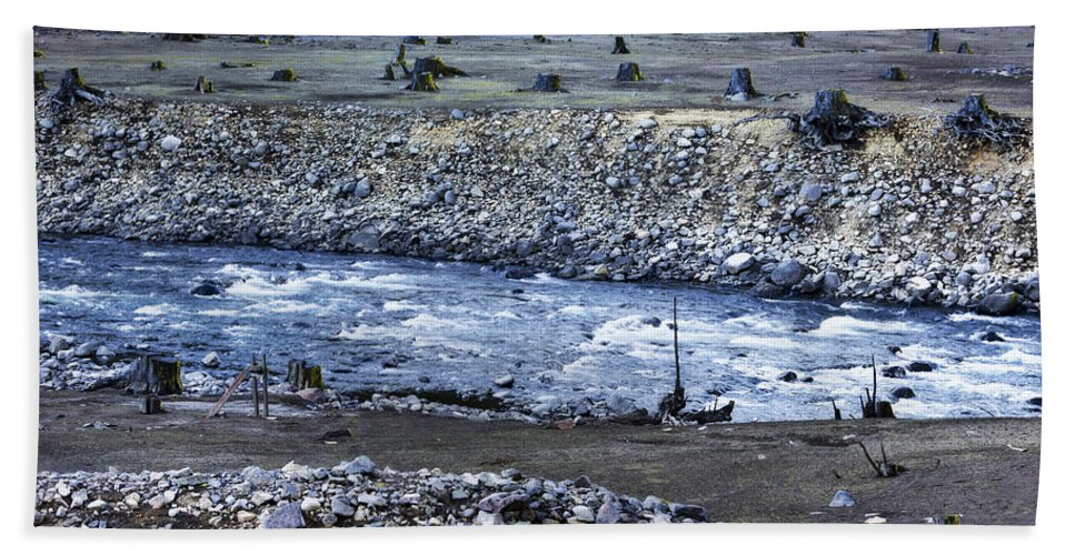 Stream Bath Sheet featuring the photograph Dominion by Belinda Greb