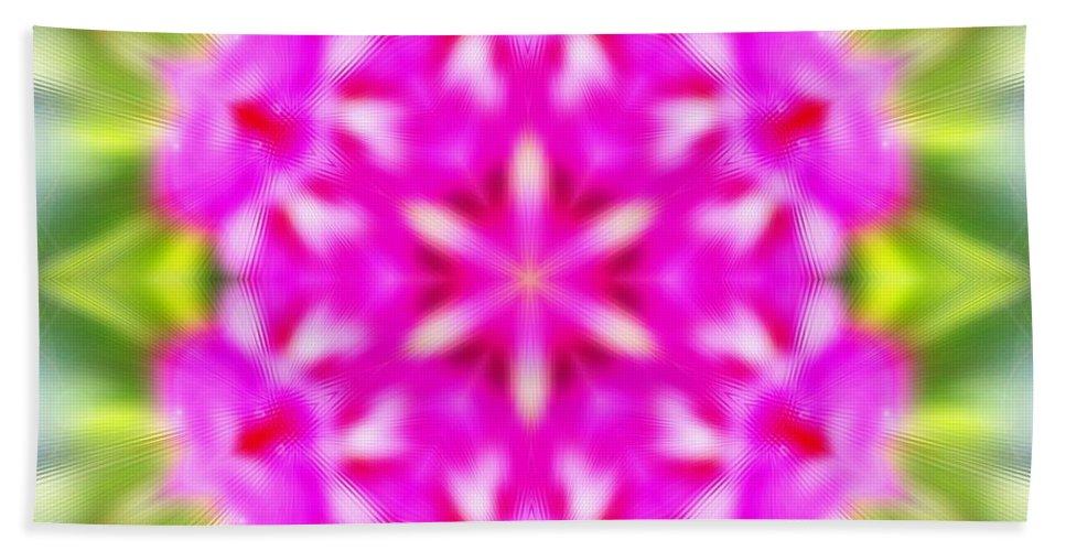 Sacredlife Mandalas Hand Towel featuring the photograph Double Vision by Derek Gedney