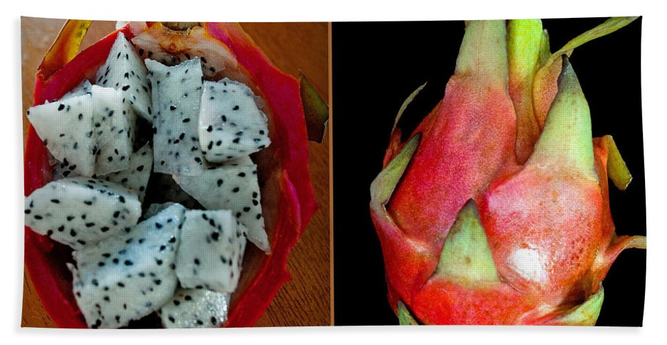 Fruit Hand Towel featuring the photograph Dragon Fruit by Tikvah's Hope